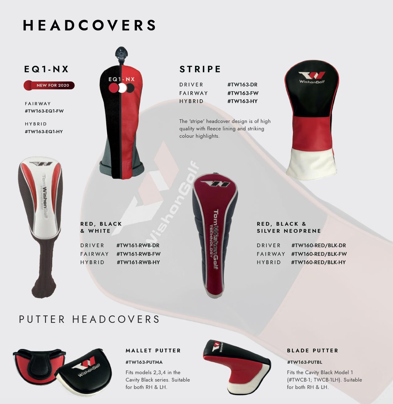 Head Covers 2020