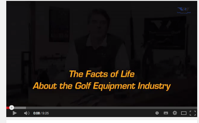 The Facts of Life About the Golf Equipment Industry