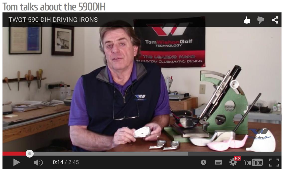 Tom talks about 590DIH VIDEO