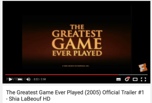 The Greatest Game Ever Played - Trailer
