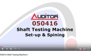 050416 Shaft Testing Machine