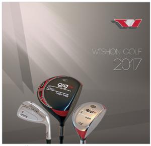 Wishon Golfs Katalog 2017
