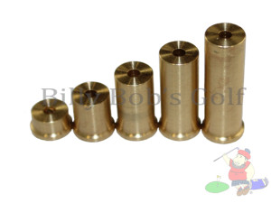 Brass Tip Weights 335/355""