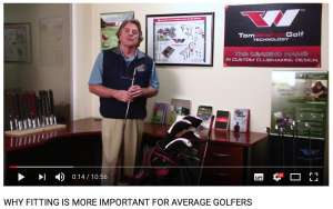 WHY FITTING IS MORE IMPORTANT FOR AVERAGE GOLFERS Bild Tom W