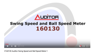 V160130 Auditor Swing Speed and Ball Speed Meter-1