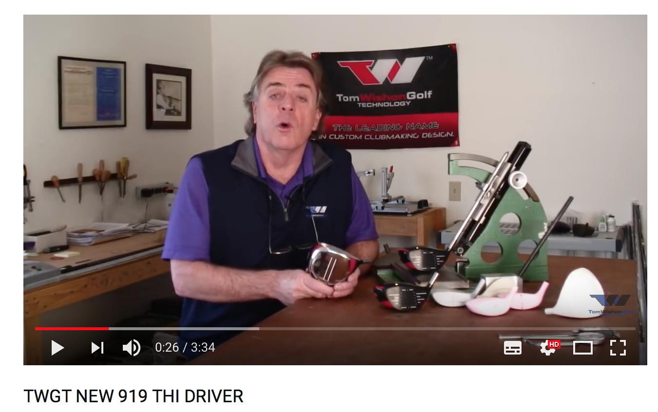 Tom W om 919THi drivern