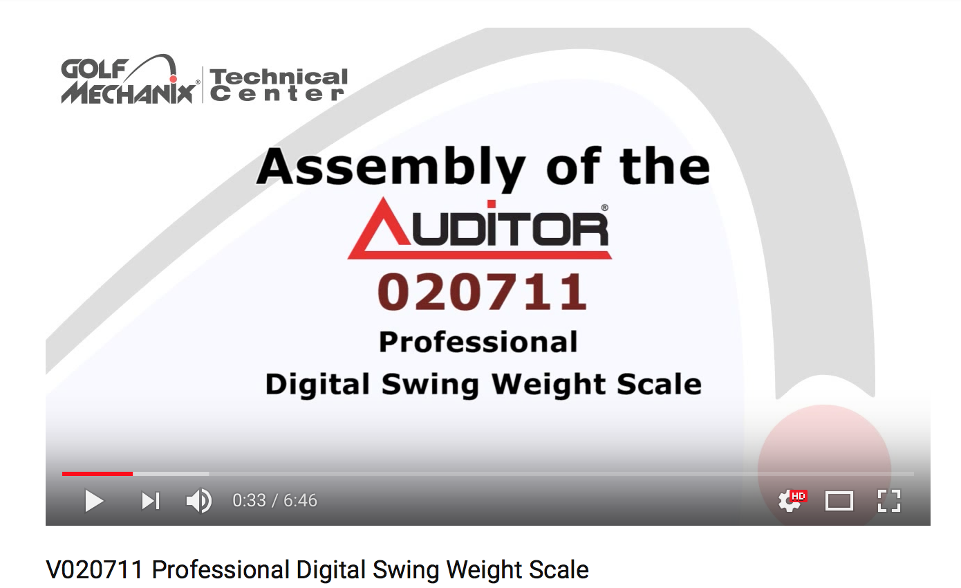 020711 Professional Digital Swing Weight Scale
