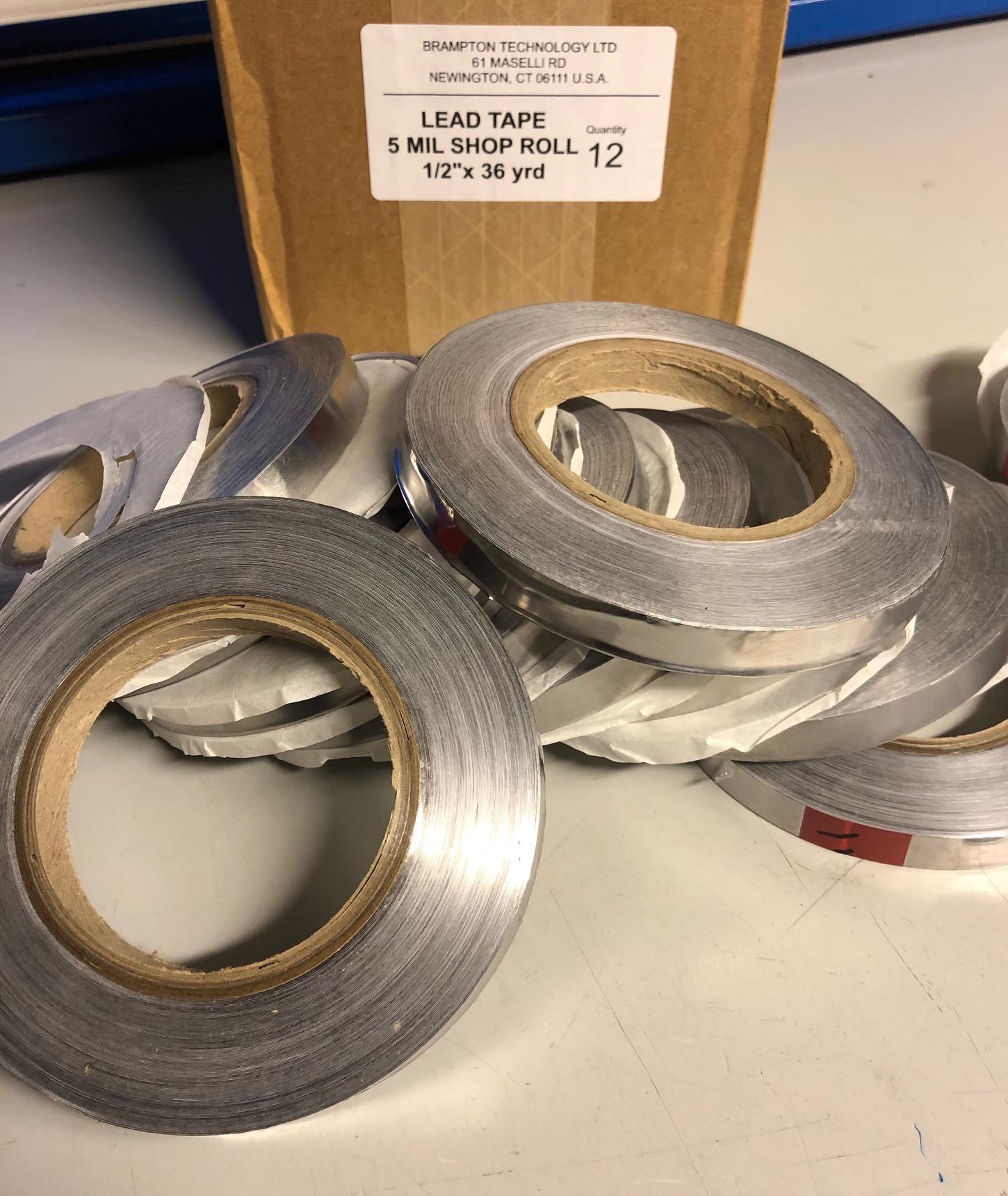 Lead Tape 36y 32.92 m