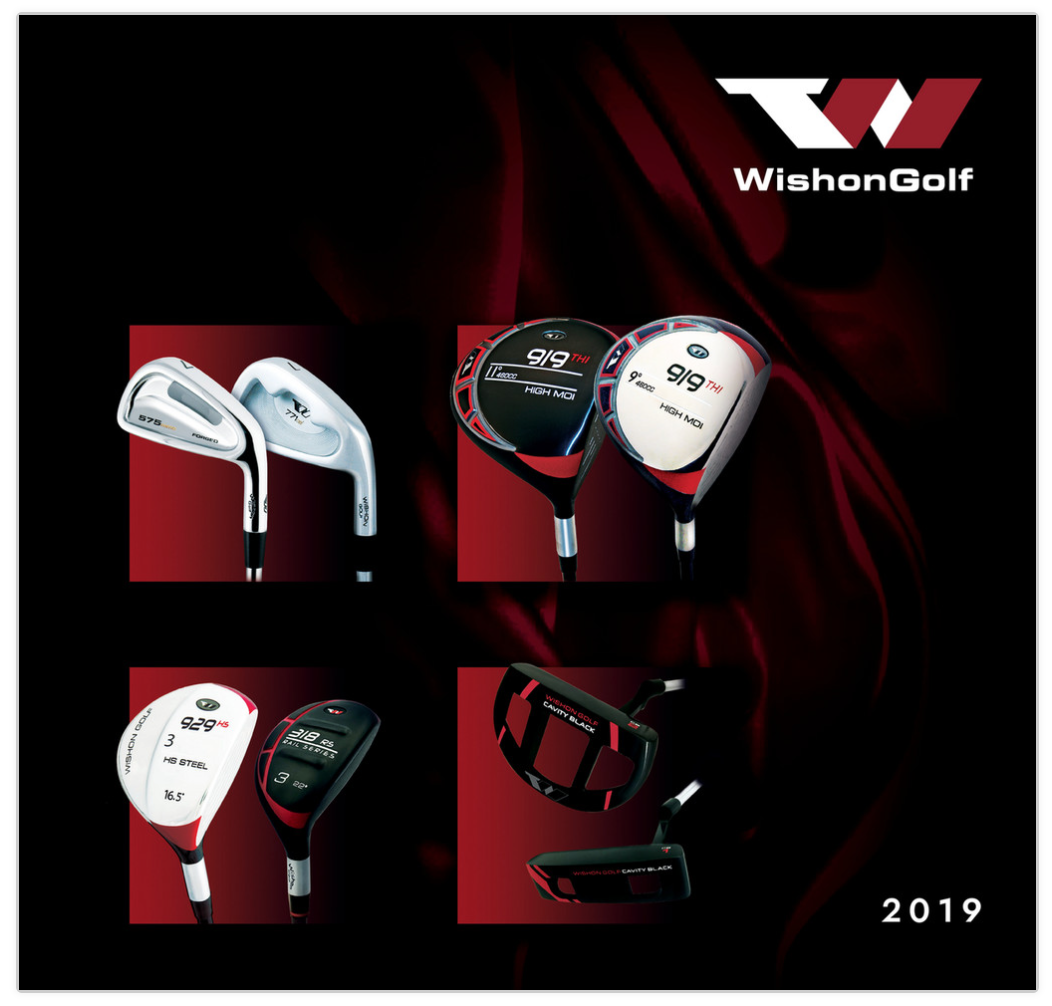 Wishon Golf Katalog 2019