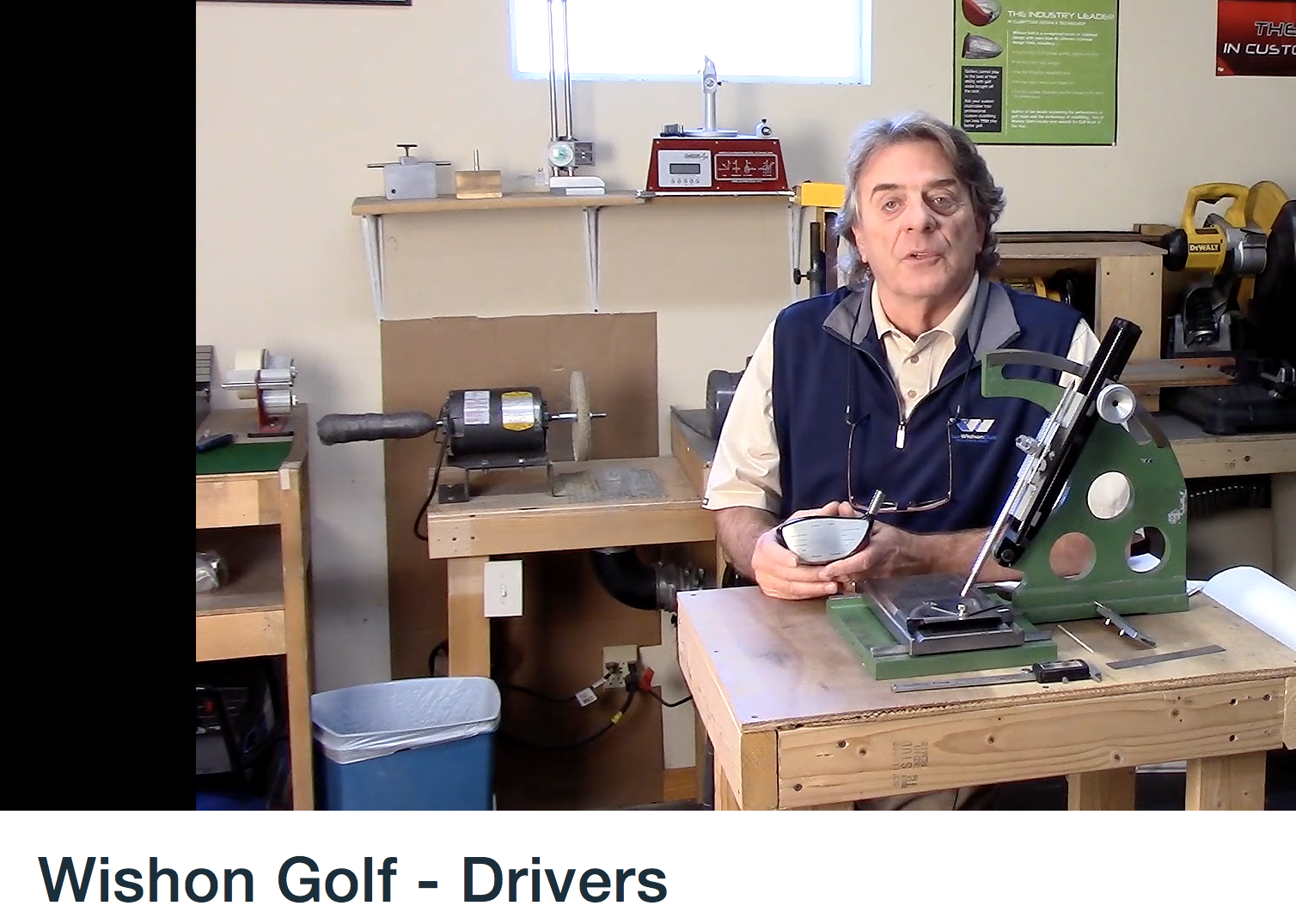 Tom pratar on drivers