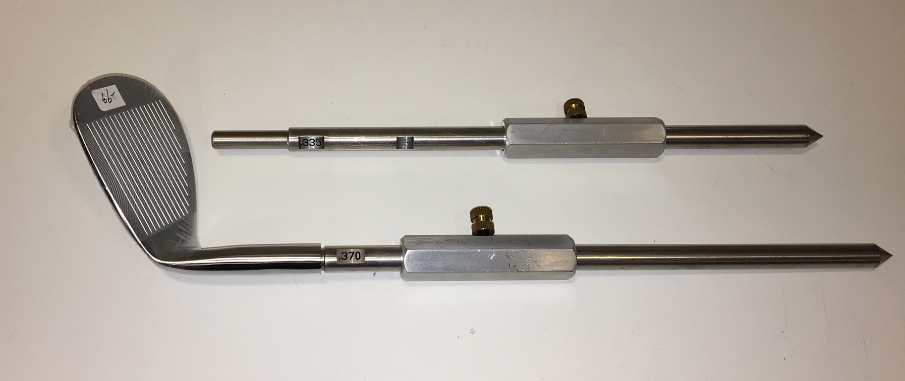Hosel wall support rods