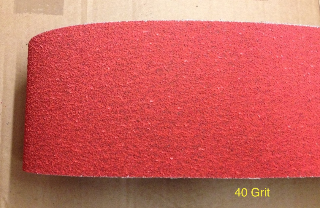 Ceramic abrasive belt - 40 Grit