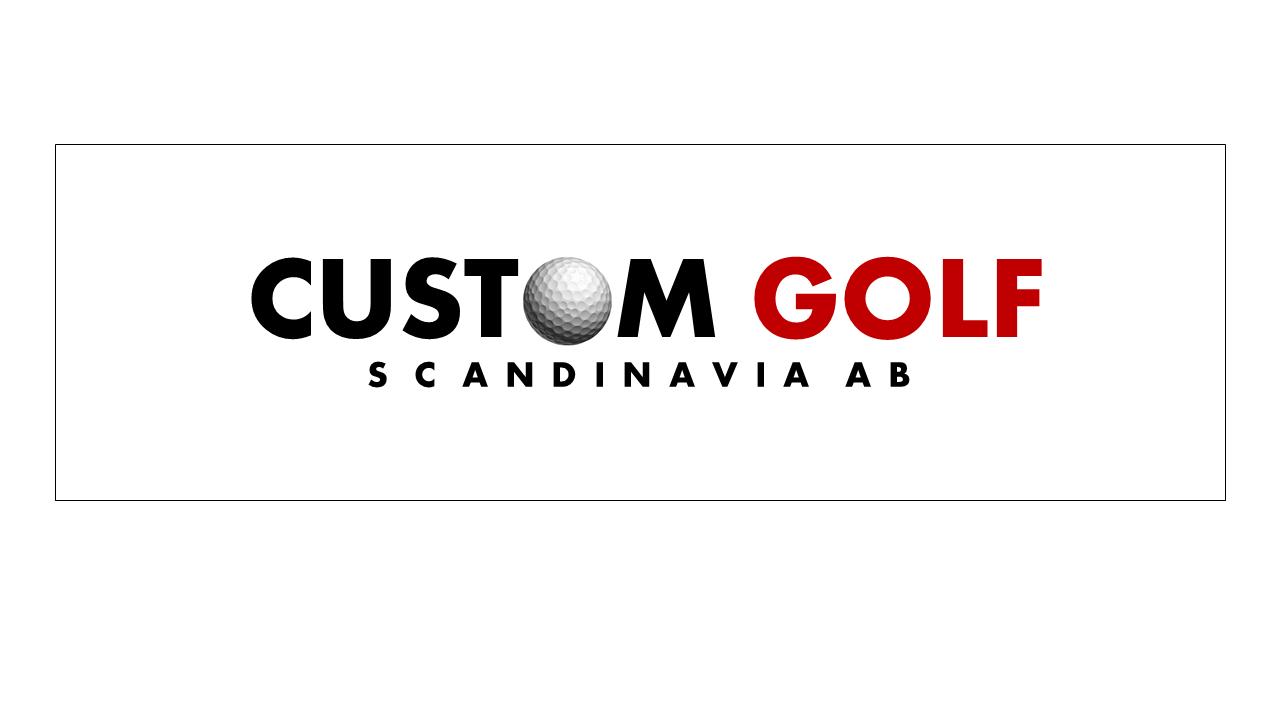 Logotype Custom Golf Scandinavia