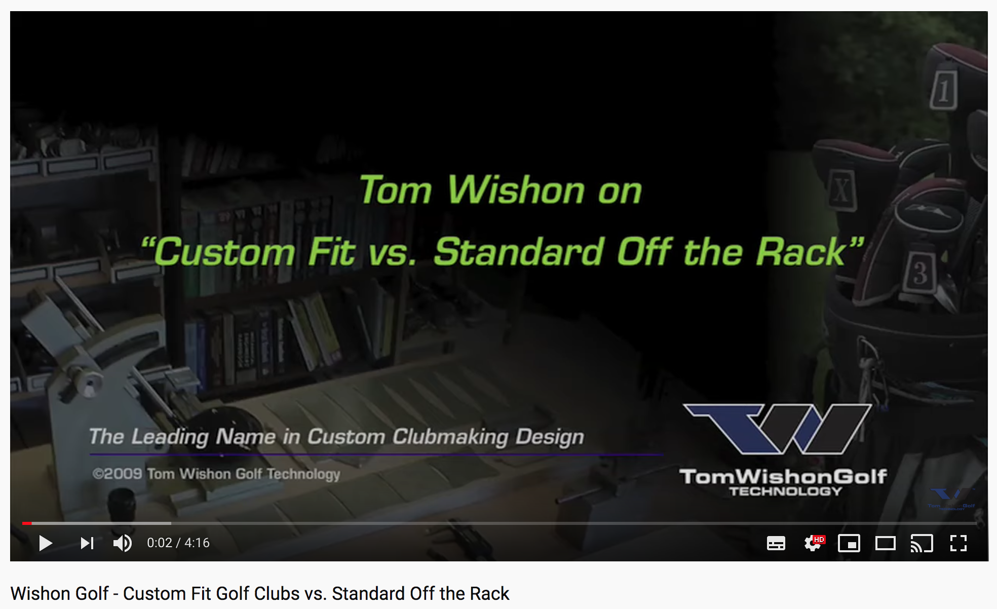 Custom Fit Golf Clubs vs. Standard Off the Rack
